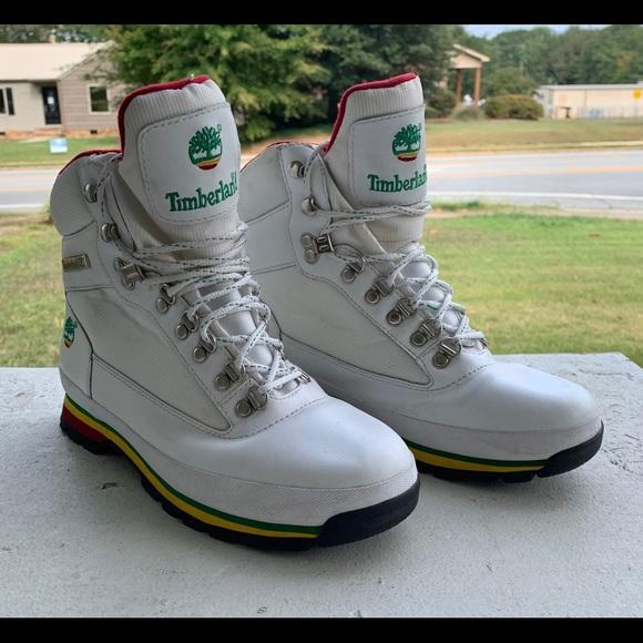 Timberland Shoes   White Bob Marley